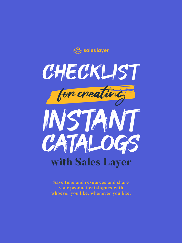 Checklist for creating Instant Catalogs with Sales Layer