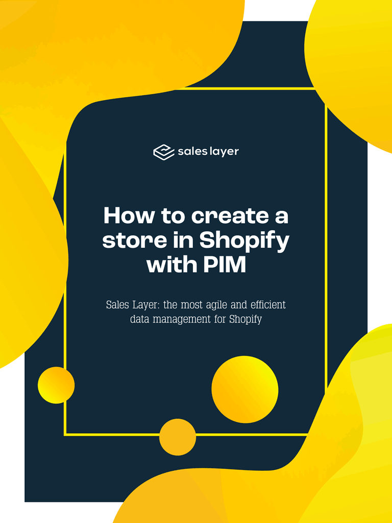 How to create Shopify store with PIM