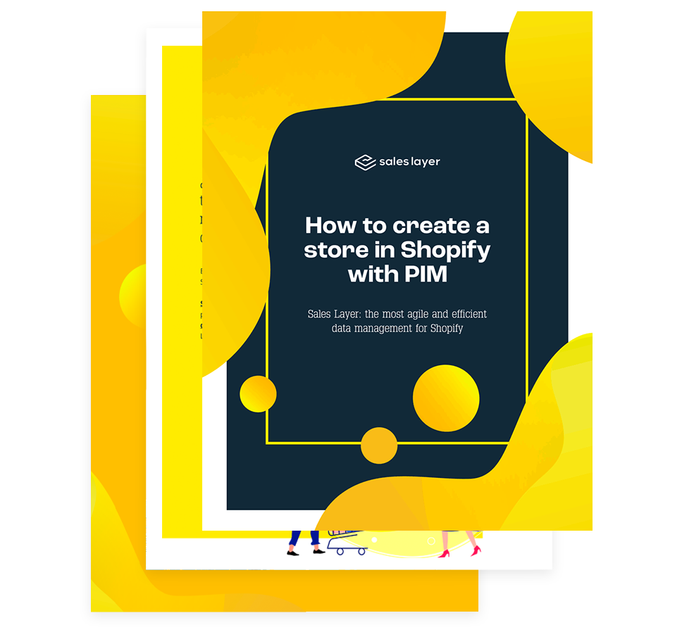 Guide to create a Shopify shop with PIM
