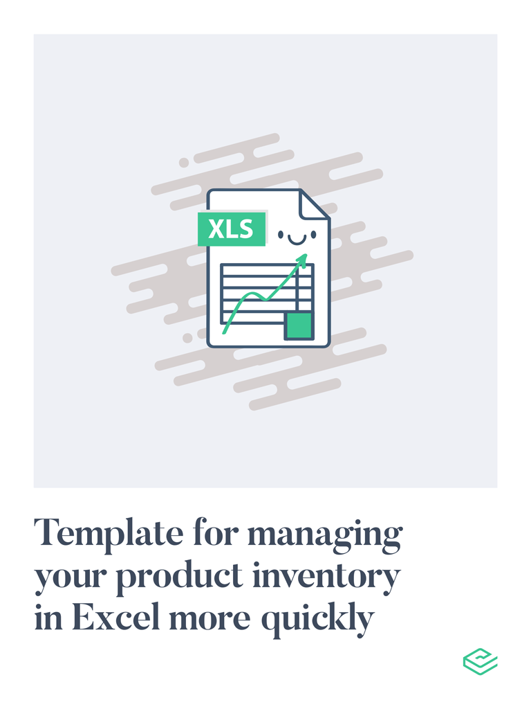 Excel template for product inventory