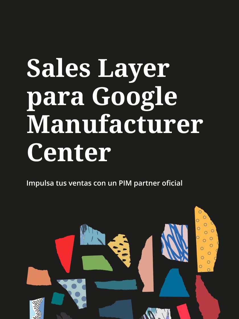 Sales Layer Google Manufacturer Center